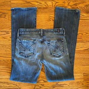 7 For All Mankind 'A' pocket bootcut Jeans Sz 26